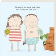 Rosie Made a Thing 'New Home Pool' Card